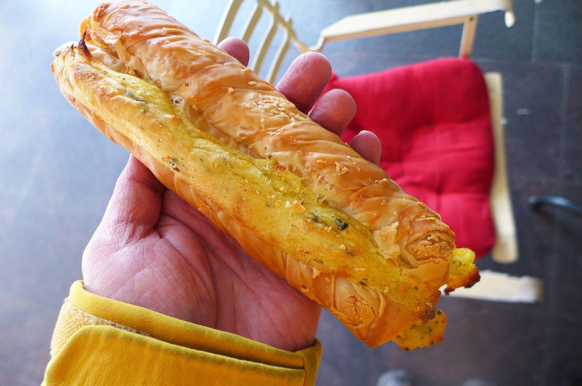Potato pie at Artopolis