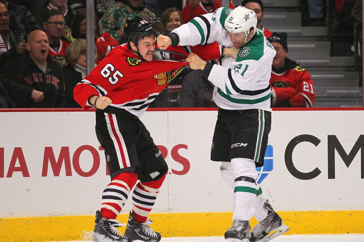 Can Antoine Roussel find a way to become even less likable for Blackhawks fans?