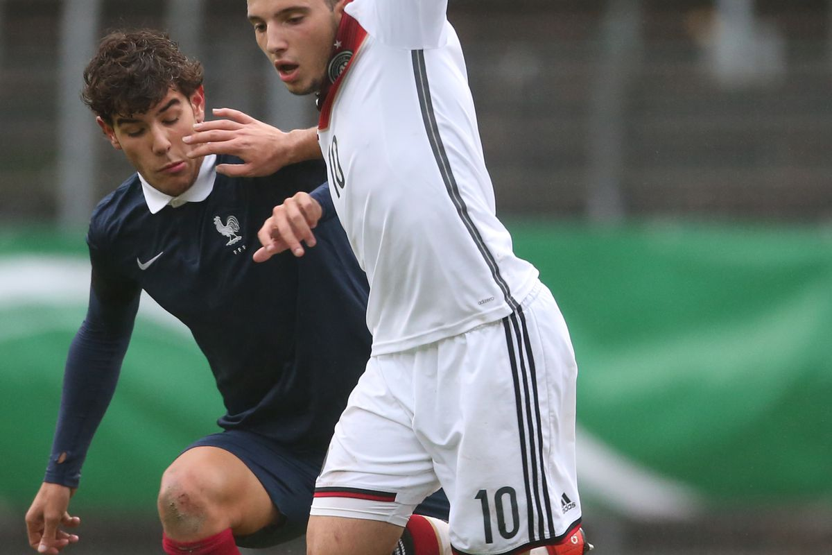 Germany v France - U19 Four-Nations-Cup