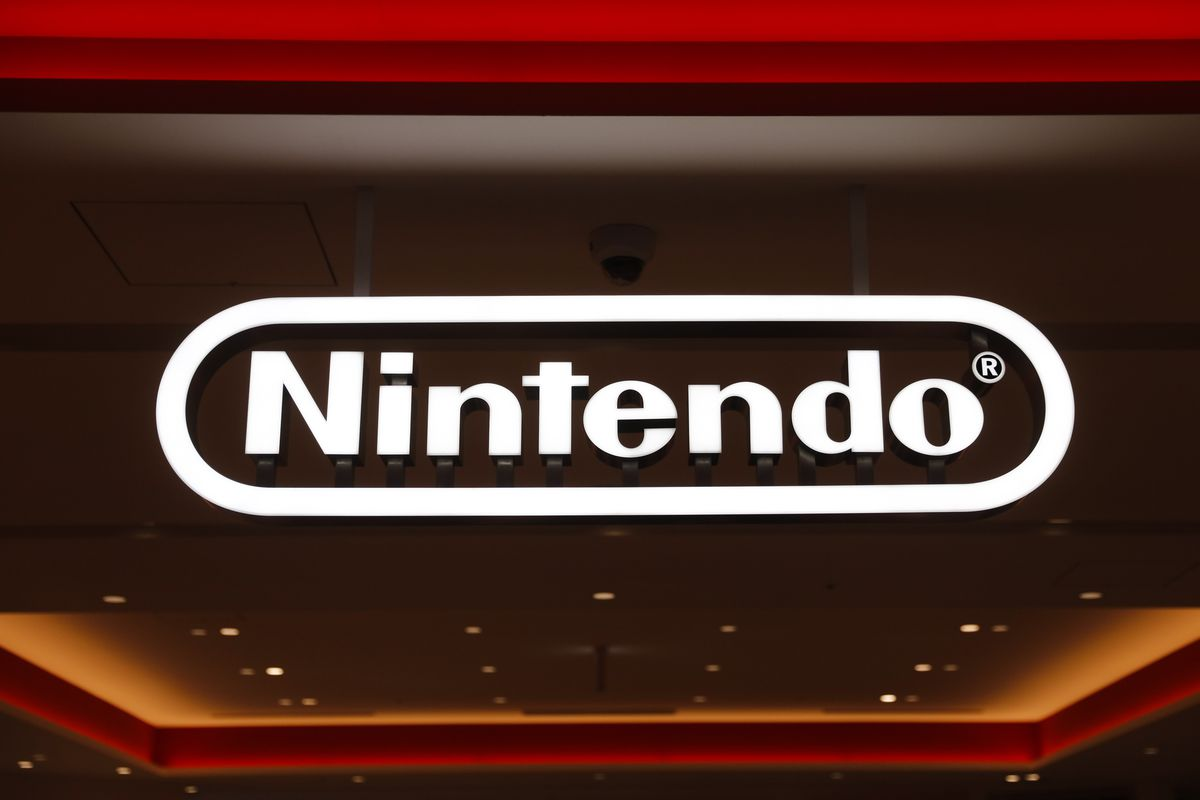 In this Jan. 23, 2020, photo, a Nintendo sign is seen at the company's official store in the Shibuya district of Tokyo, Thursday, Jan. 23, 2020.