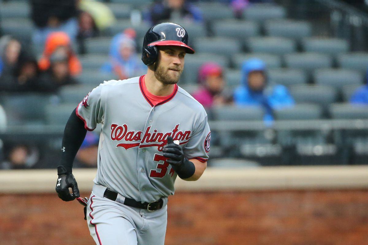 In 2015, Bryce Harper accounted for 21.9 percent of the Nationals' total offense.