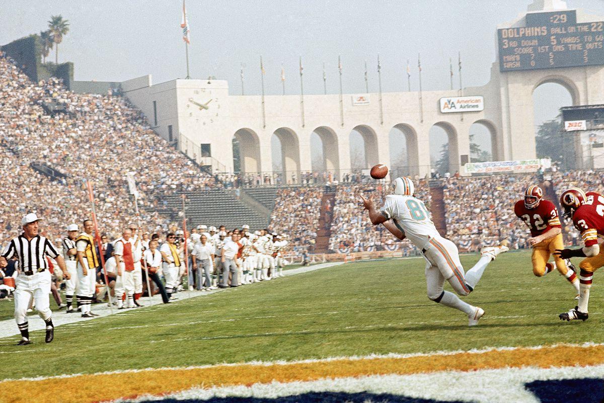 Miami Dolphins vs Washington Redskins, Super Bowl VII