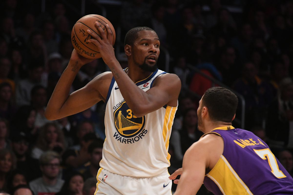 Warrior Highlights Durant Curry Green All Played Well Against Lakers Golden State Of Mind