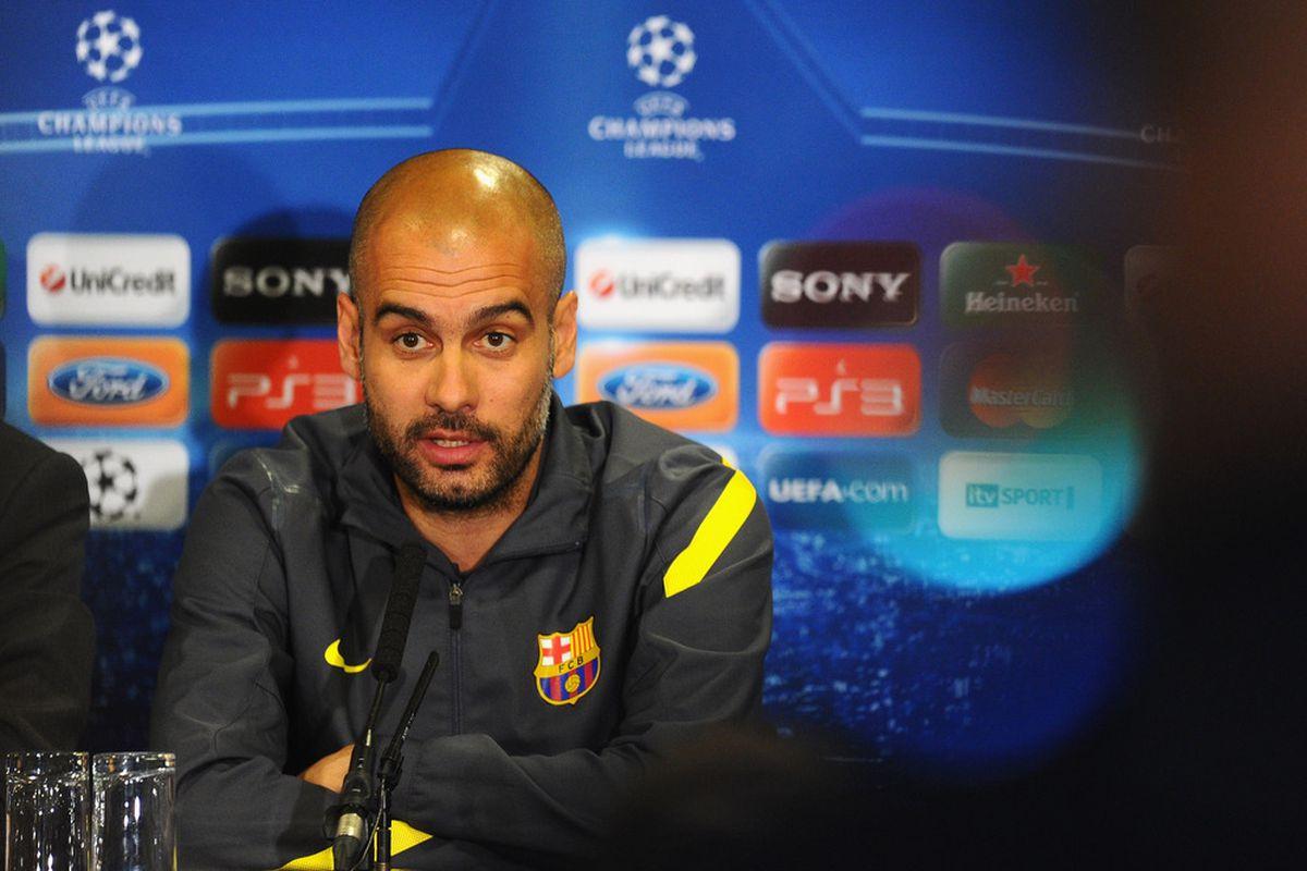 Pep Guardiola, classy in three languages: English, Spanish, and Catalan