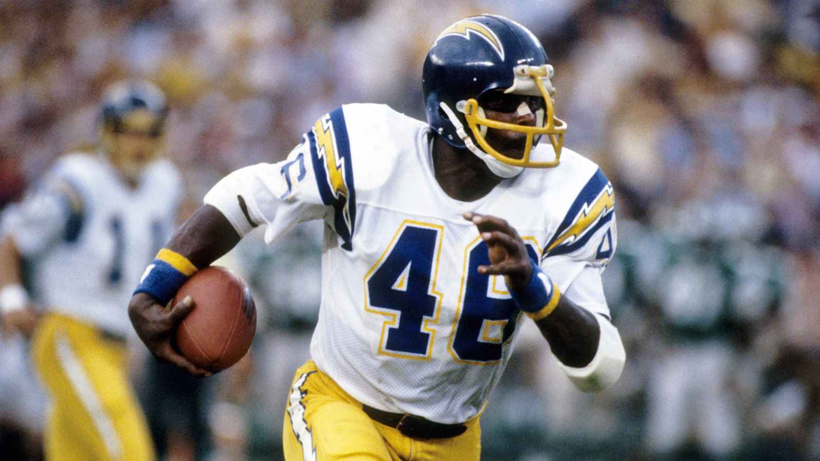 Former San Diego Chargers Running Back Chuck Muncie Has