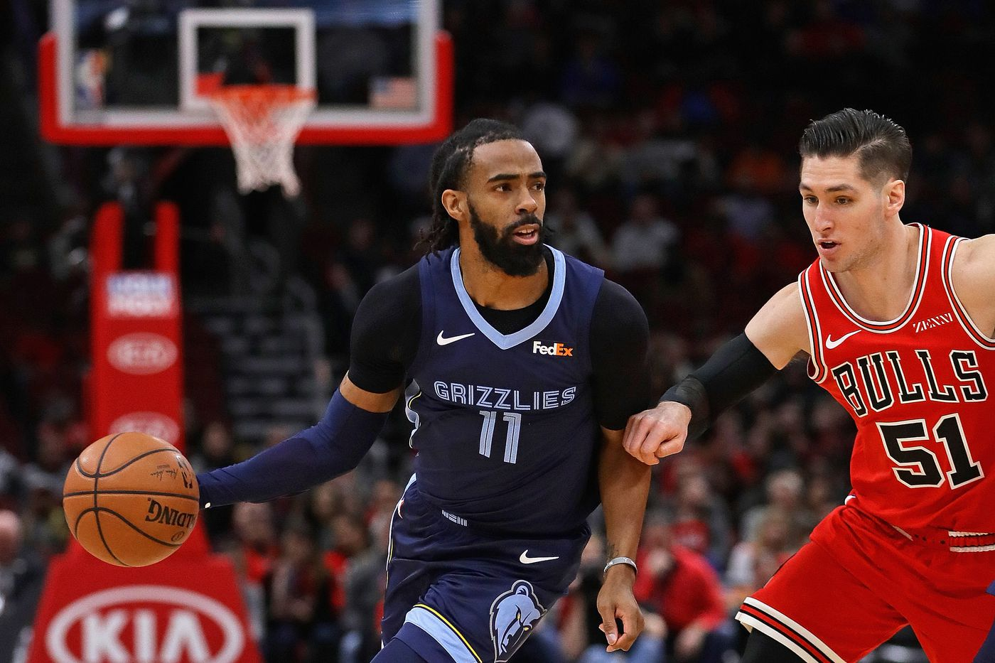 premium selection 5343e cfa8e Memphis Grizzlies vs. Chicago Bulls Game Preview - Grizzly ...
