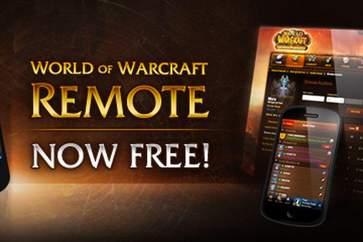 world of warcraft remote