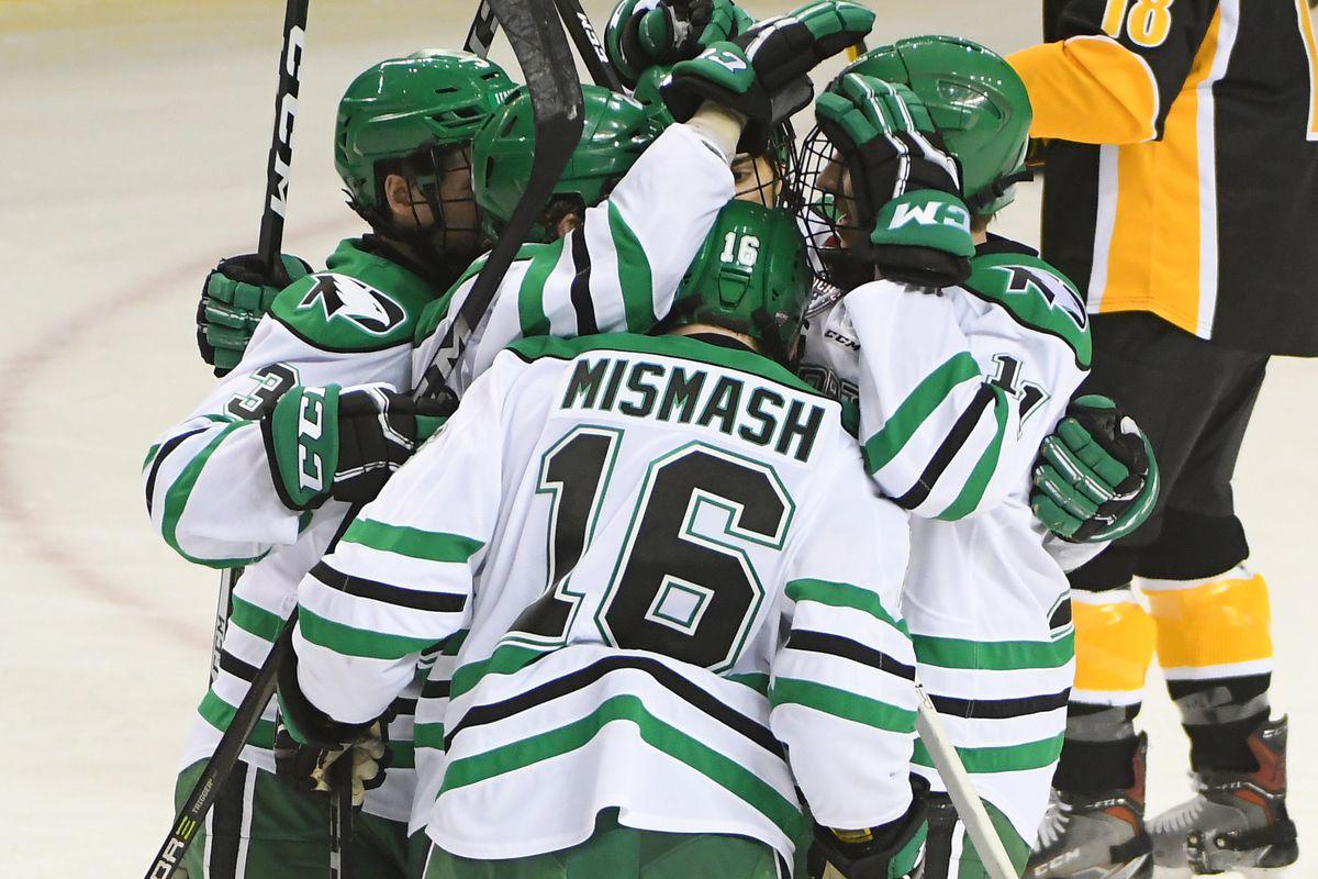 North Dakota, Penn State to Play U.S. Hockey Hall of Fame Game in Nashville