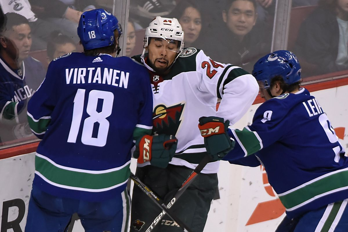 0fe92158b Leipsic and Virtanen s future with the Canucks - Nucks Misconduct