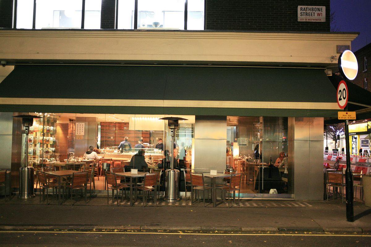 Roka, on Charlotte Street in Fitzrovia in central London