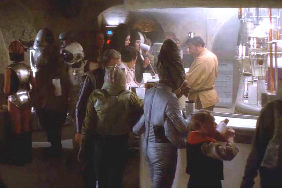 Star Wars Cantina Pop Up
