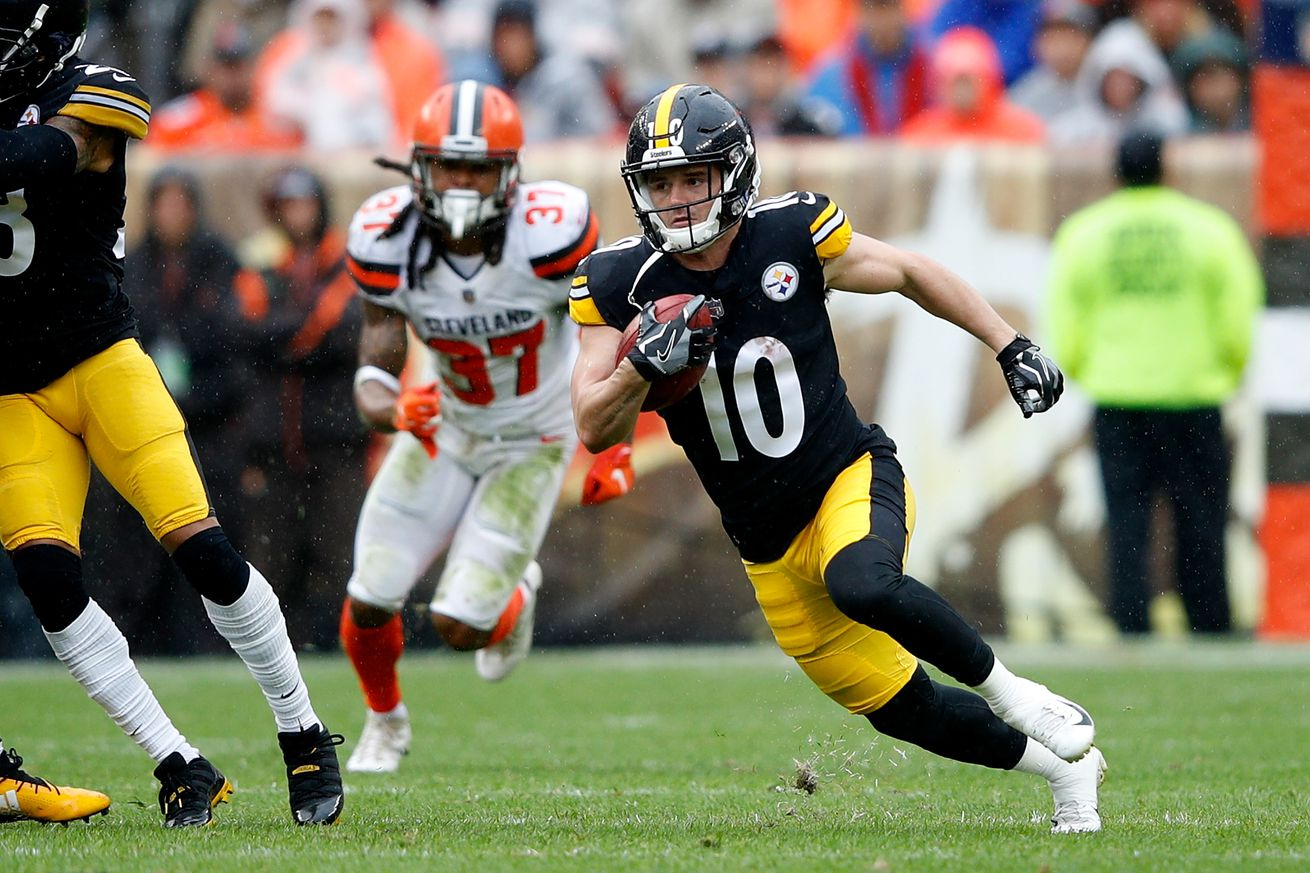 Ryan Switzer impresses on special teams in debut with Steelers