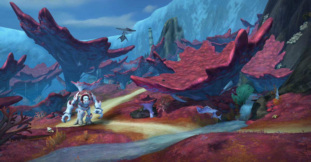 World of Warcraft's next patch, Rise of Azshara, launches June 25