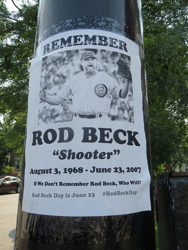 Rod Beck Tribute Poster