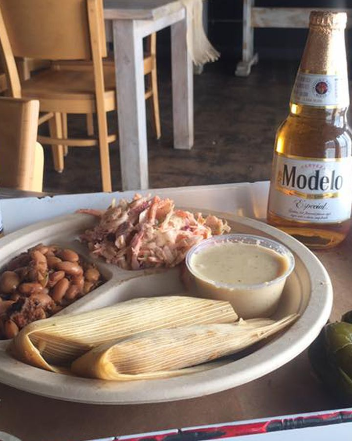 The tamale plate from Stiles Switch