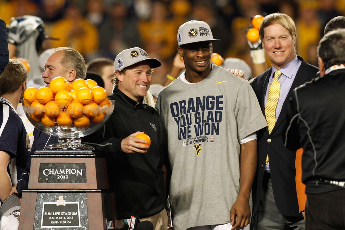 Big East teams have done pretty well in BCS bowl games. Maybe they'll still have a chance to in the future.