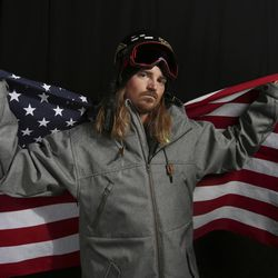 United States Olympic Winter Games slopestyle skier McRae Williams poses for a portrait at the 2017 Team USA Media Summit Tuesday, Sept. 26, 2017, in Park City.