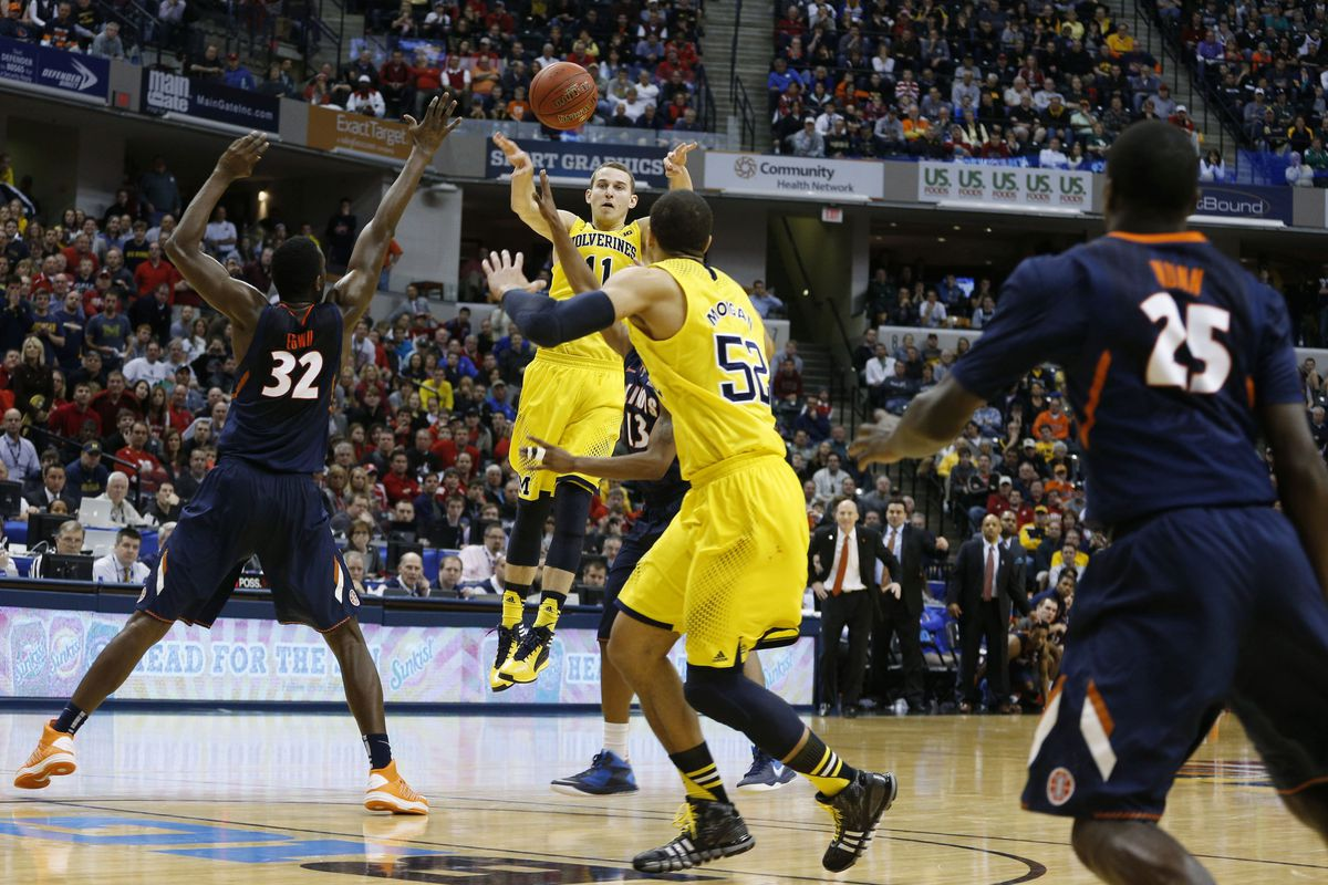 Michigan escaped upset on a bucket late by Jordan Morgan