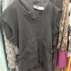 No.6 hoodie with open back, $120 (was $420)