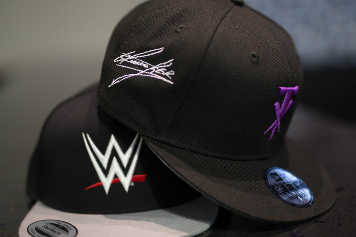 4c9ad0d193 Want a customized WWE hat  LIDS has good news for you - Cageside Seats