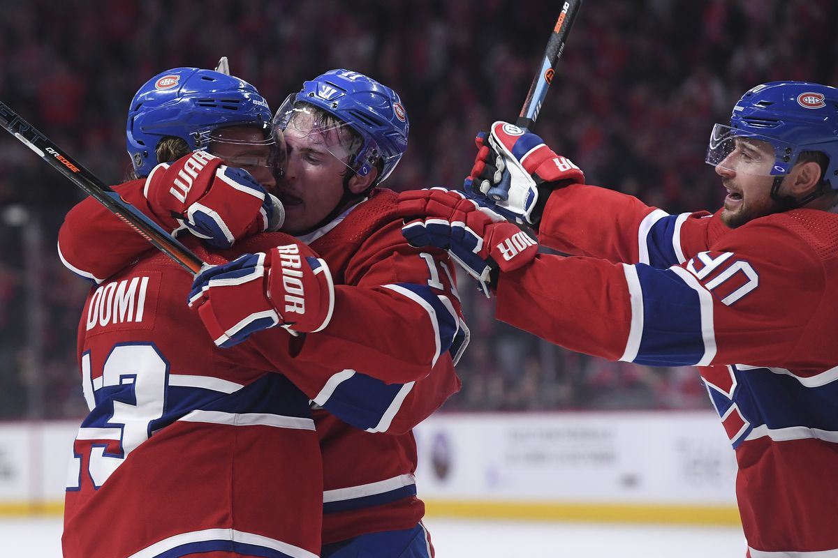 Max Domi channeled his anger for good on Saturday
