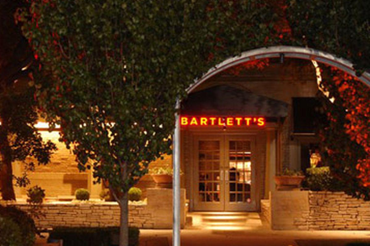 Bartlett's.