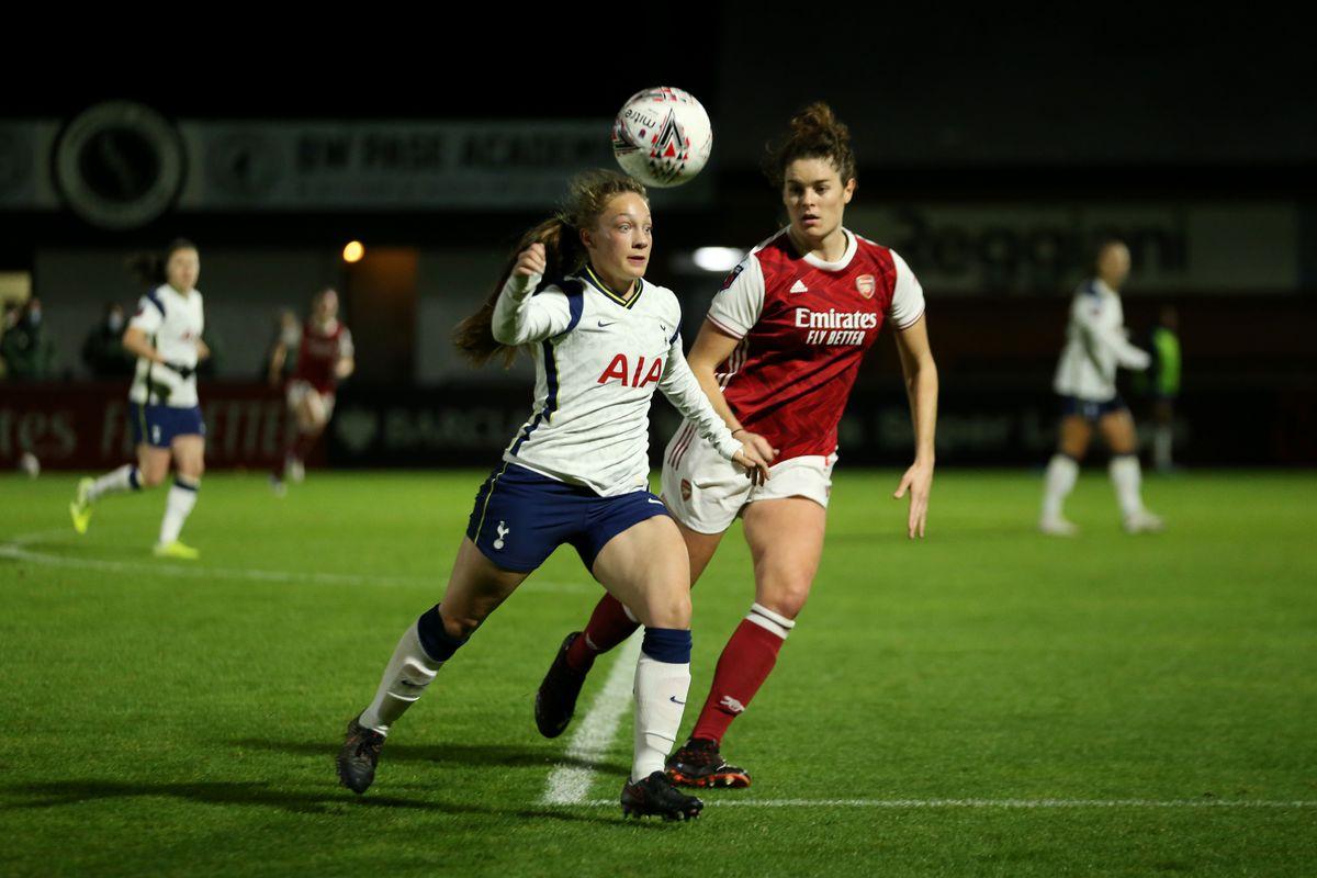 Arsenal v Tottenham Hotspur - FA Women's Continental League Cup