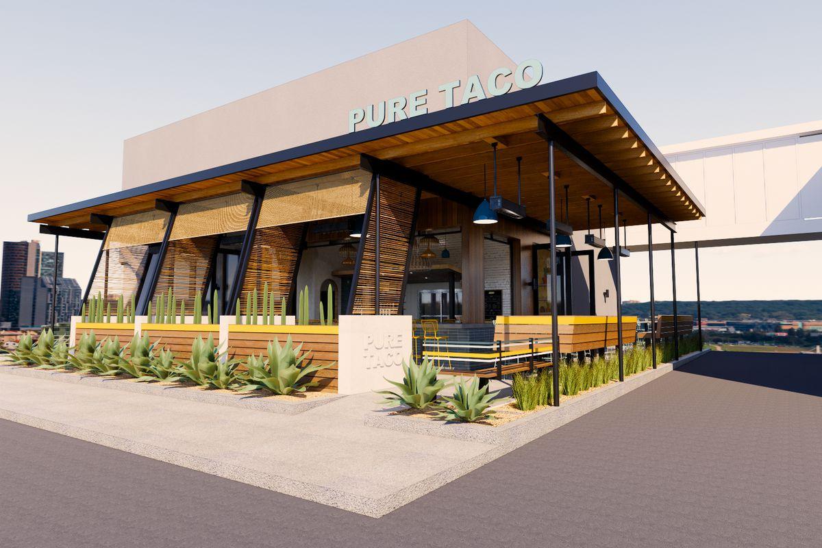 Rendering of Pure Taco in Carlsbad