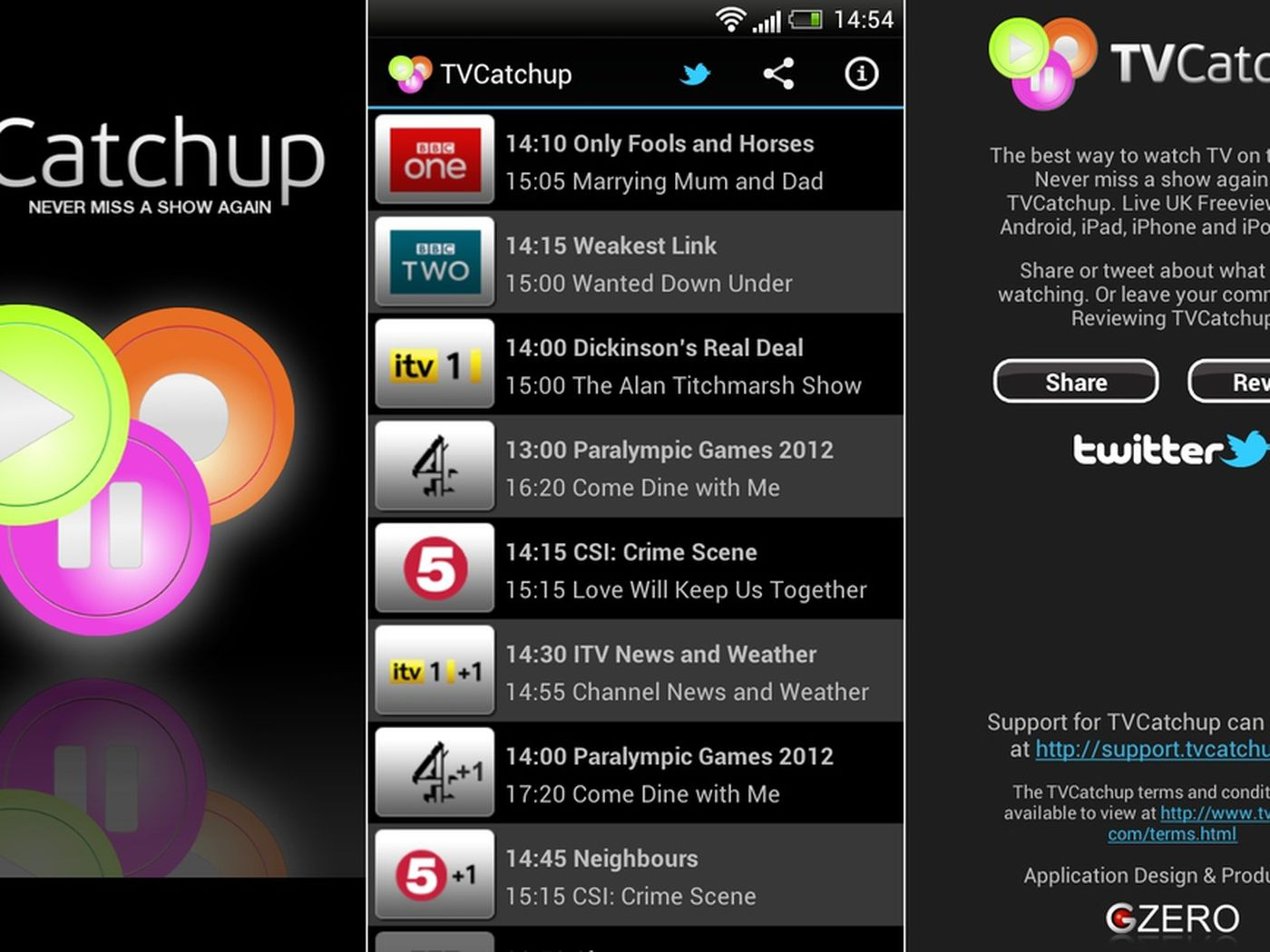 Tvcatchup watch free live tv apps on google play.