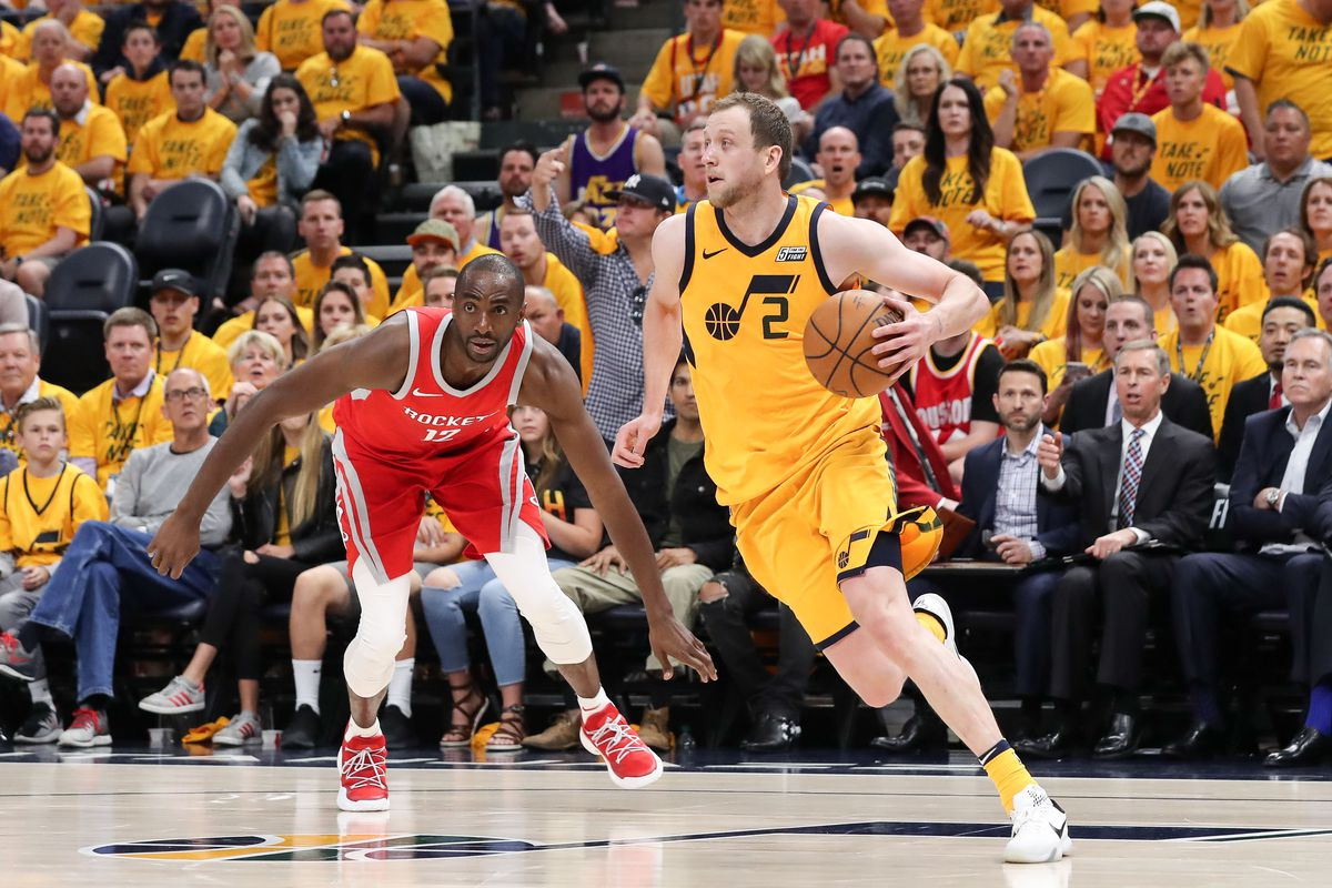 big sale 52df5 ac776 Joe Ingles is great at everything, including mixtapes - SLC Dunk