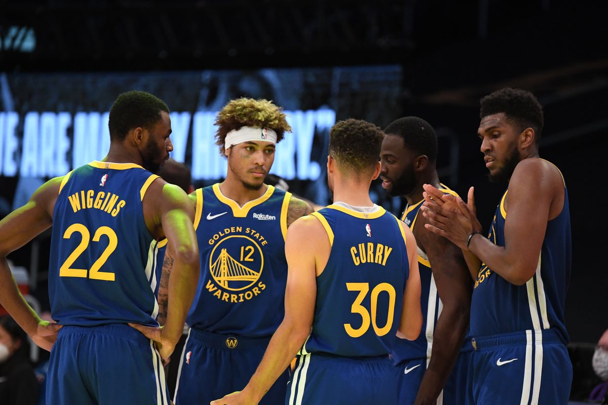 Warriors vs. Lakers: Kelly Oubre Jr. leads the second unit - Golden State  Of Mind