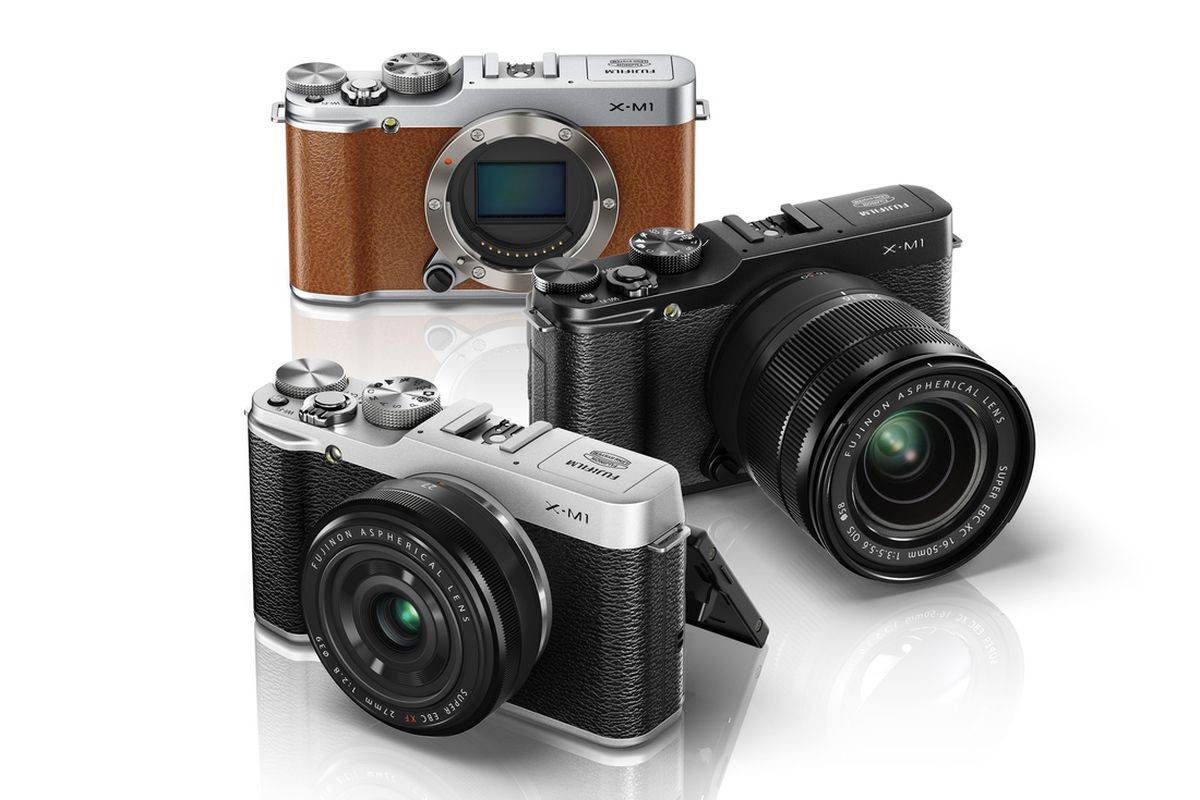 fujifilm announces the x m1 its cheapest retro styled interchangeable lens camera the verge
