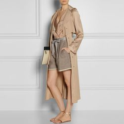 """<b>Lanvin</b> Wrap-Front Pique Coat, <a href=""""http://www.net-a-porter.com/product/403296/Lanvin/wrap-front-pique-coat"""">$4,460</a>"""
