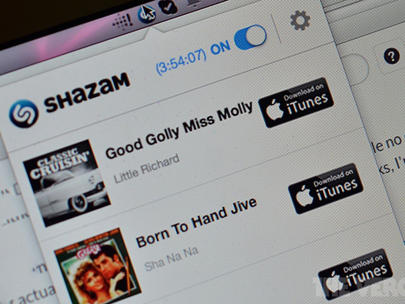 You Can Now Shazam From Your Mac The Verge