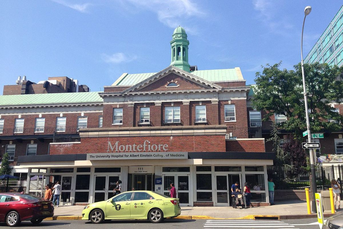 The Montefiore Medical Center in The Bronx.