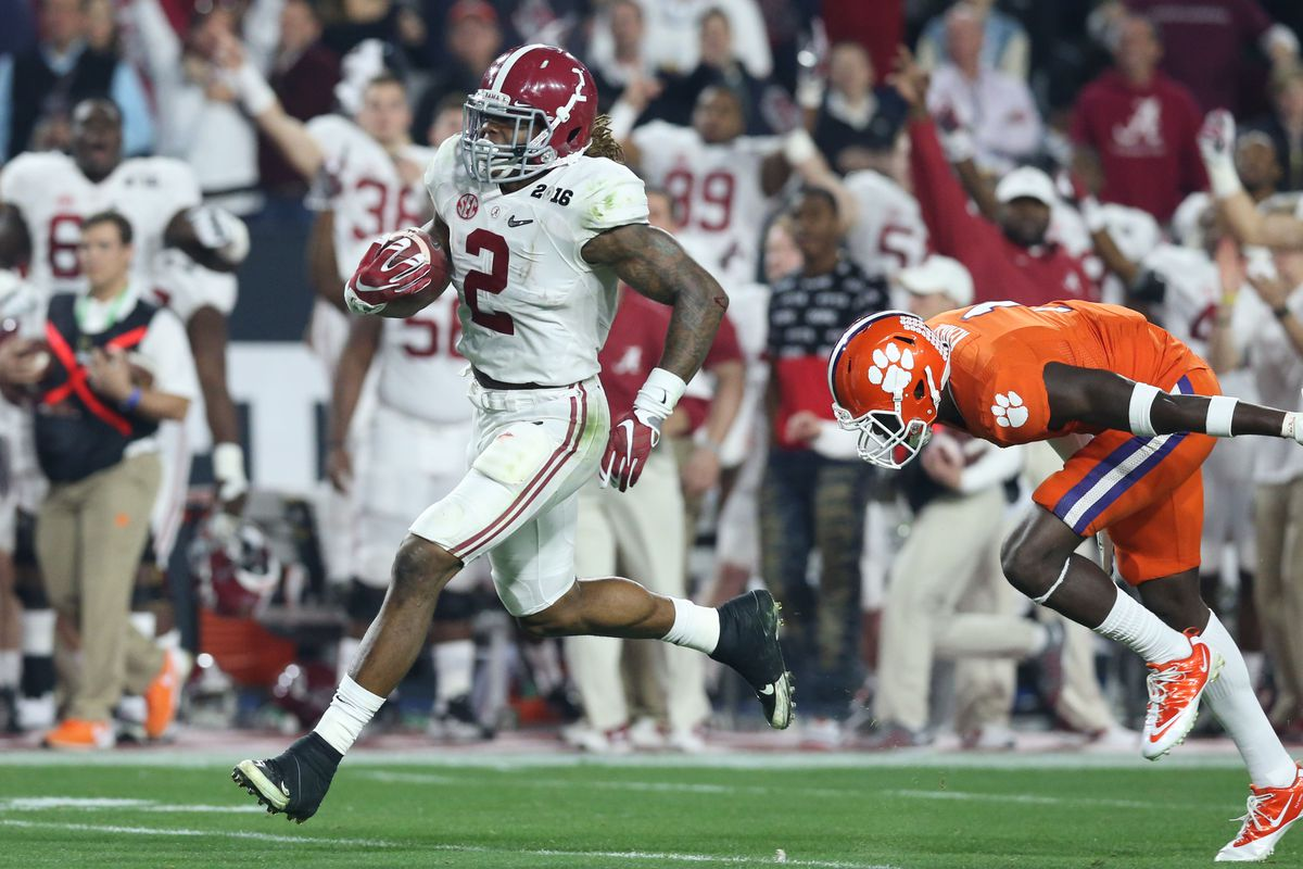 Derrick Henry. He and MM8 can compare Heisman Trophies together in their spare time