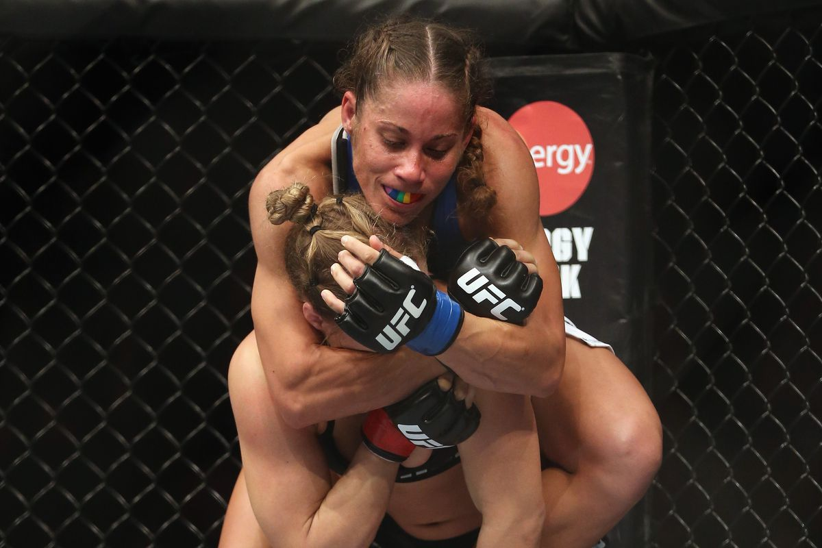 One of Liz Carmouche's highlights from her first UFC fight