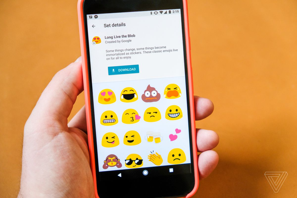 Google Is Using The Impending Death Of Its Blob Emoji To Promote