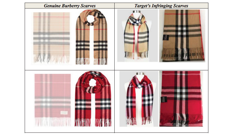 Burberry Is Suing Target For Copying Its Check Pattern Racked