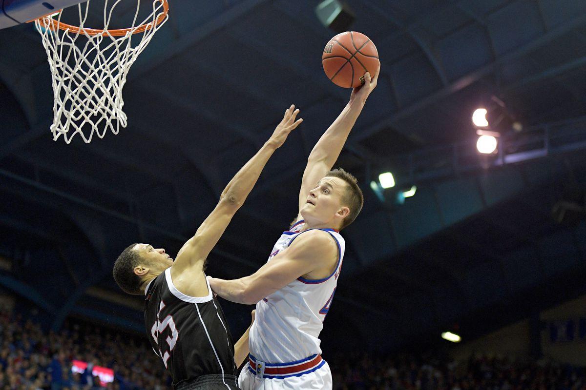 NCAA Basketball: Omaha at Kansas