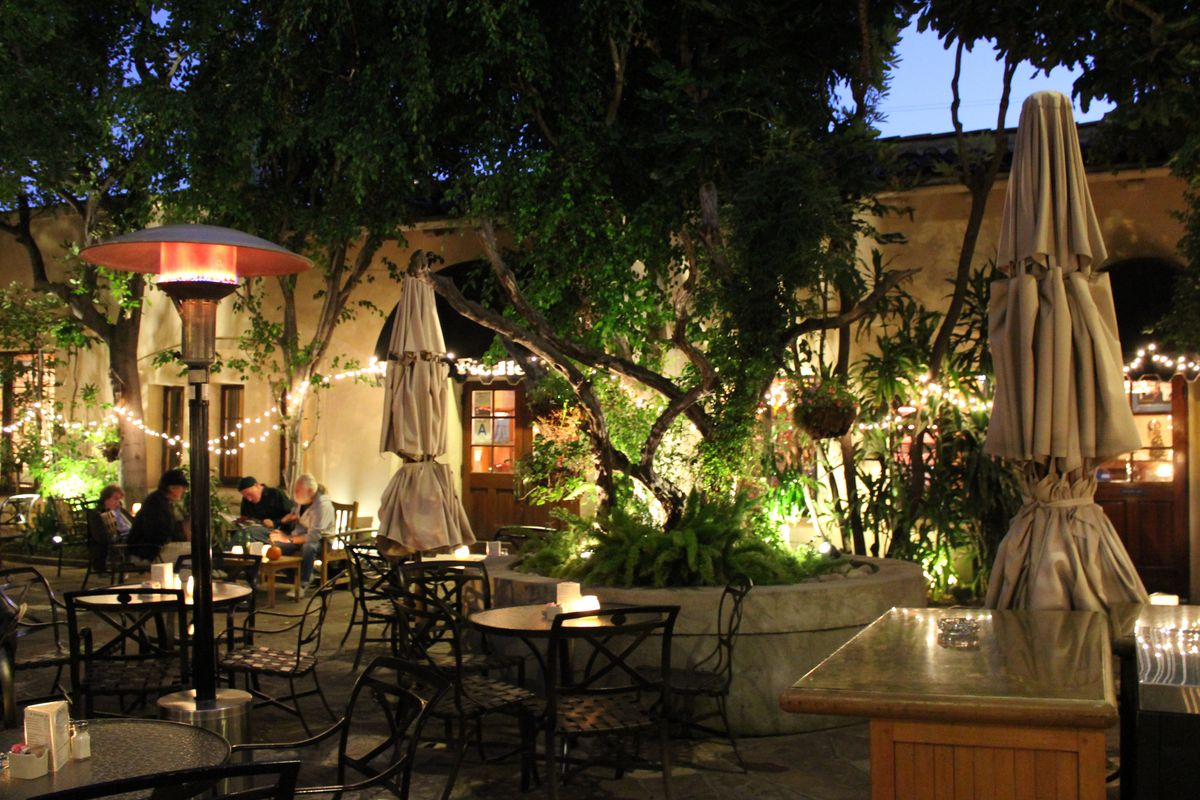 Patio at the Cat & Fiddle