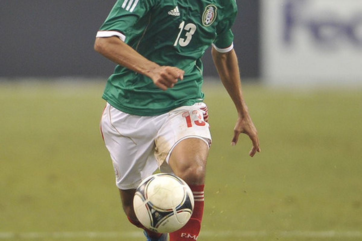 Severo Meza has locked down the El Tri right back spot with his exceptional play over the past month.
