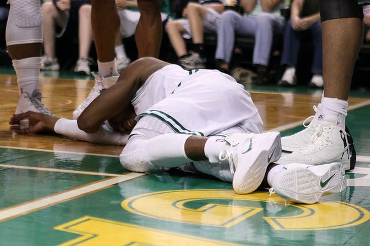 Rajon Rondo acknowledges he's not completely healthy, but says nobody is this time of year.