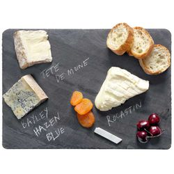 "<b>Brooklyn Slate</b> Cheese Board, <a href=""http://www.thebrooklynkitchen.com/web-store/index.php?product=CB1014BL"">$37.50</a> at Brooklyn Kitchen"