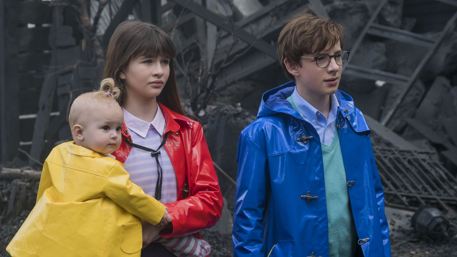 Lemony Snicket's A Series of Unfortunate Events: the 6 main