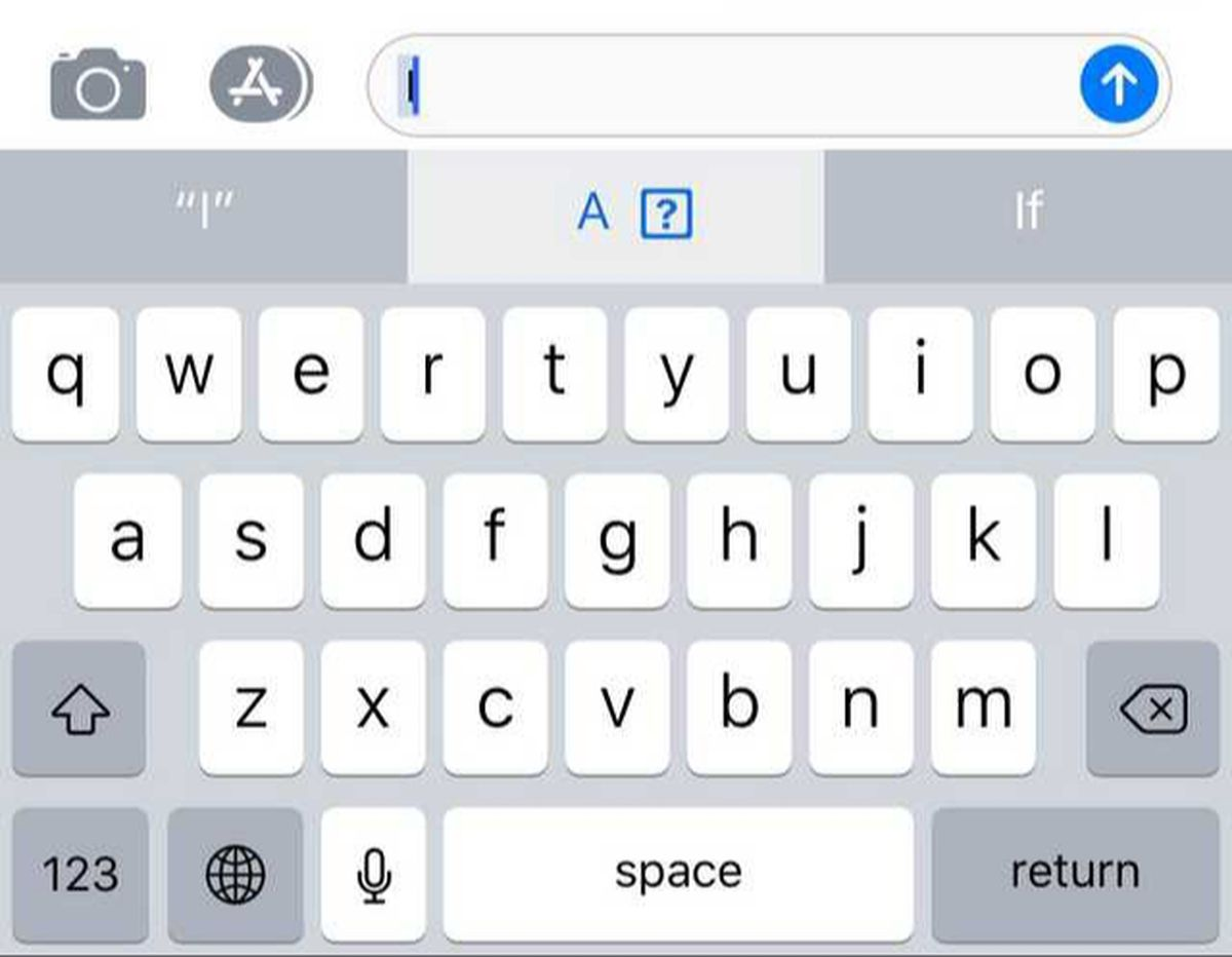 An Ios Bug Wont Let Some Users Type I The Verge