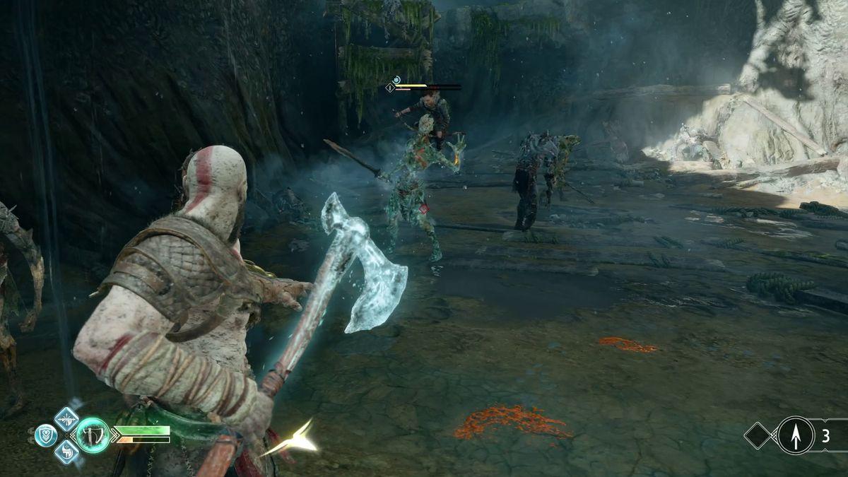 God of War - Kratos in combat