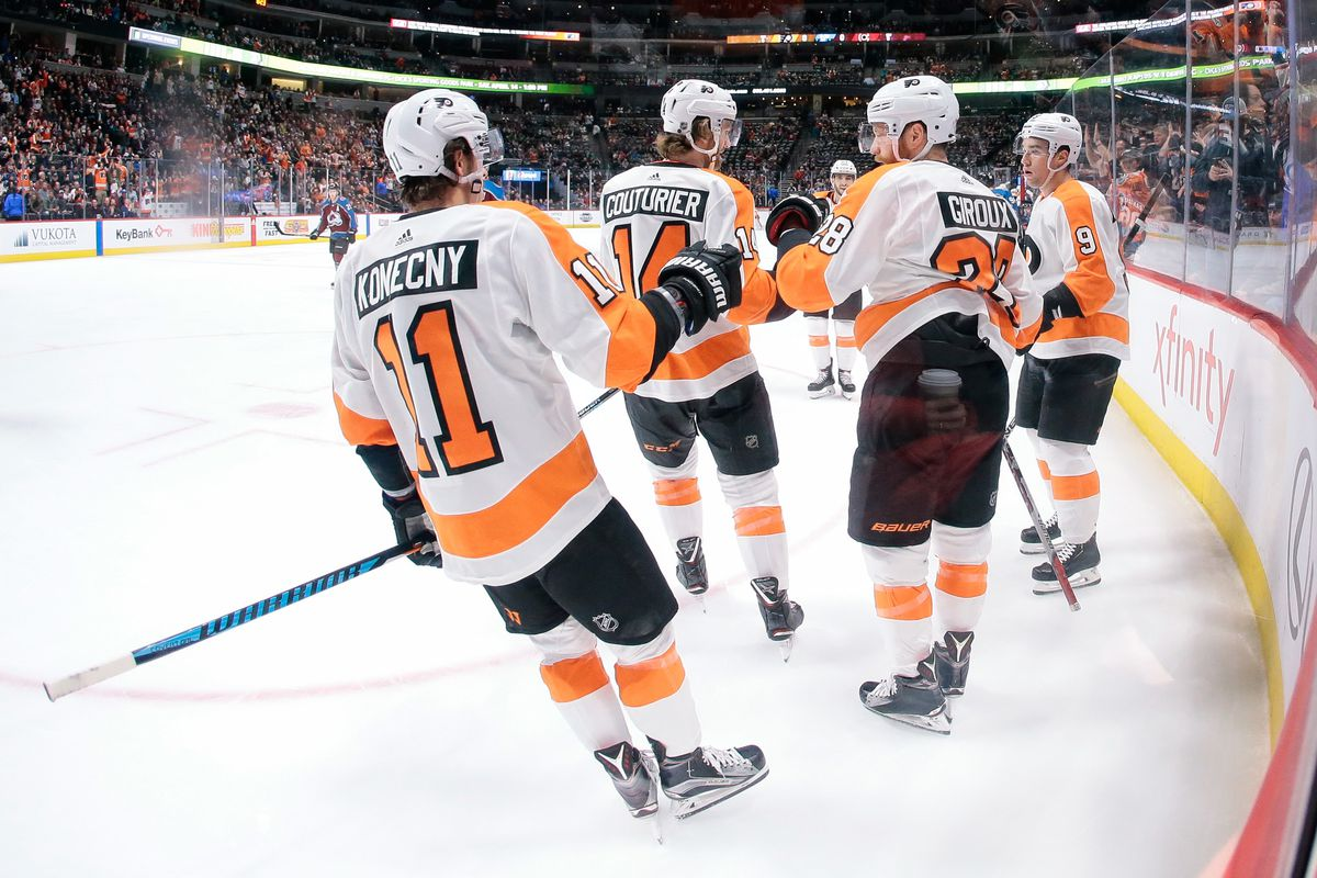 Flyers at Avalanche recap  What we learned from a massive win in ... 3eaa2402d