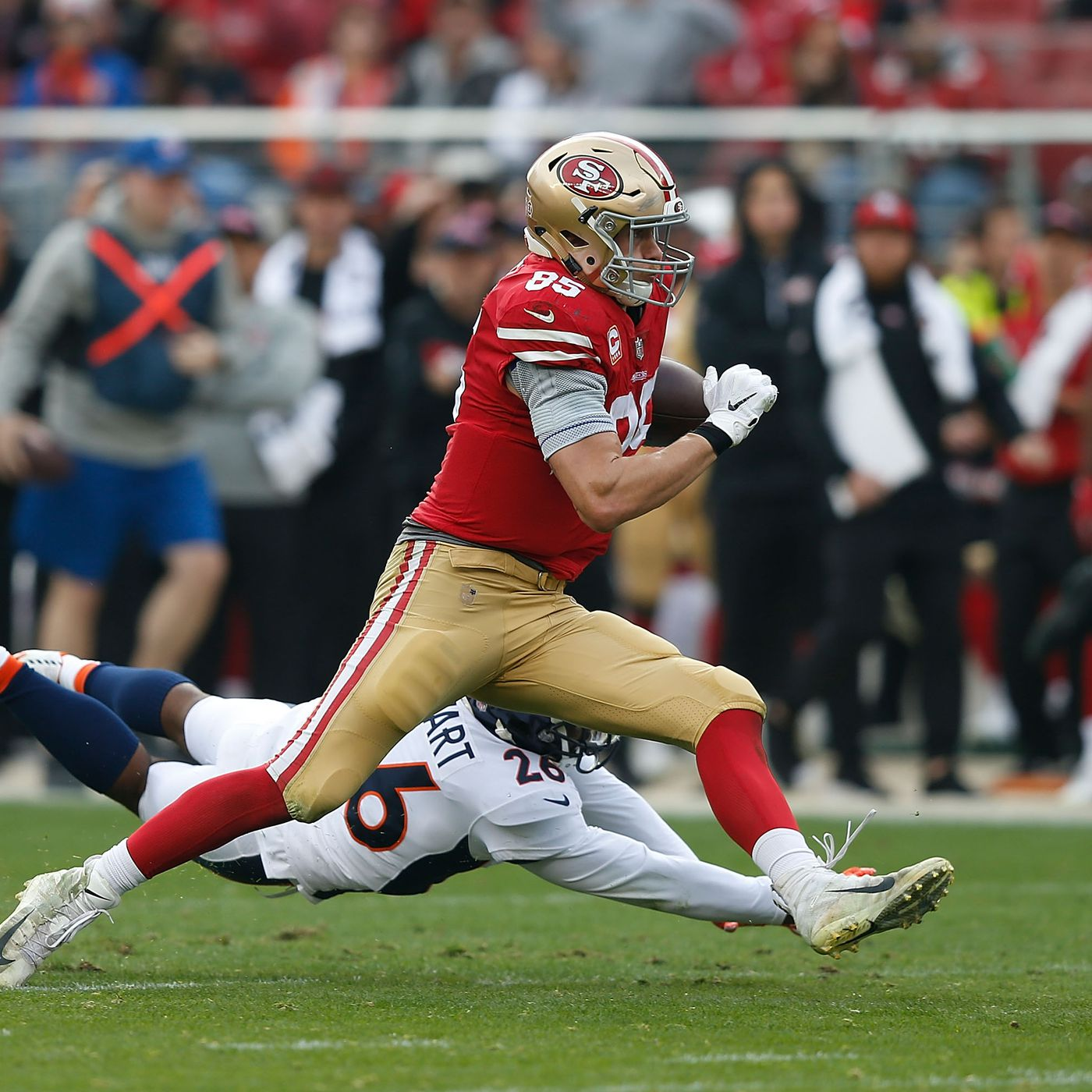 96c07c107 George Kittle s record-setting day  49ers