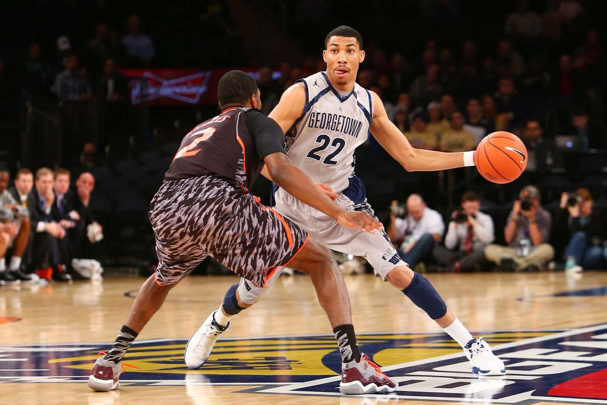 Otto Porter might be my top target in the NBA draft.
